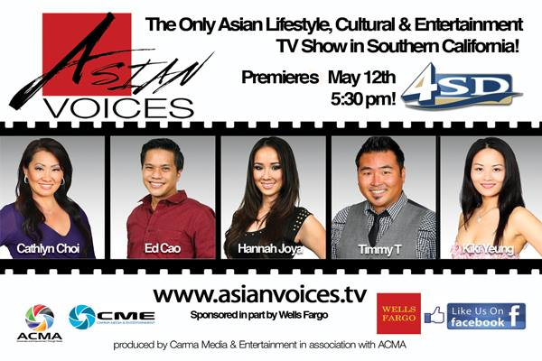 Asian Voices Season One Cast