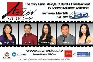 Asian Voices Schedule @ Time Warner & YURVIEW COX 4SD