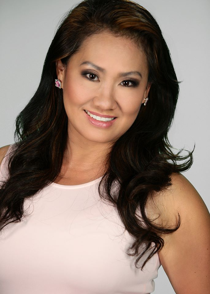 Producer and main host--Cathlyn Choi