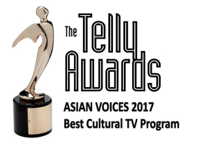 Asian Voices receives 2017 Telly Award